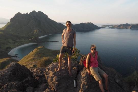 Padar Island with Andrea