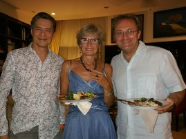 with Dr Lim and Pino