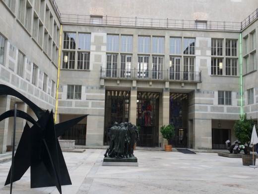 Courtyard of Kunst Museum
