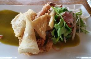 Leeuwin Est lunch - squid