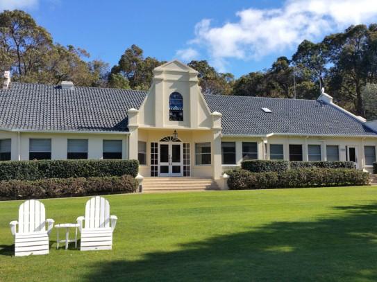 Man house at Cape Lodge
