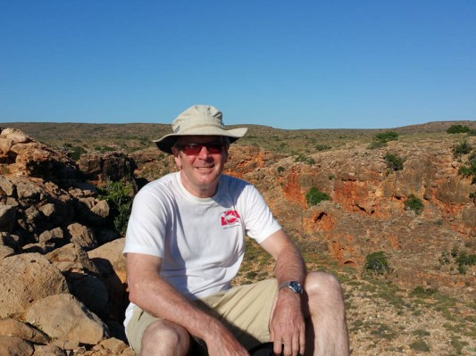 On top of Yardie Creek