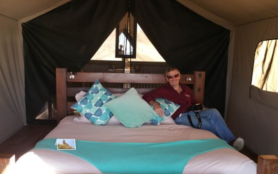 Our luxury tent