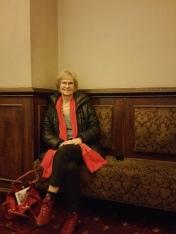 Sitting where Ungar might have sat watching billiards
