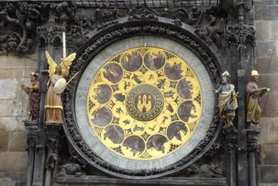 Clock face 14 century I believe