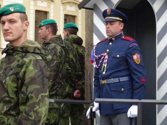 Changing the guard - still looks very Kafka-esque if you ask me!
