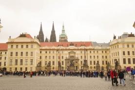 Prague Castle, where Ungar worked in 1928