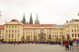 Prague Castle, where Ungar worked in 1928