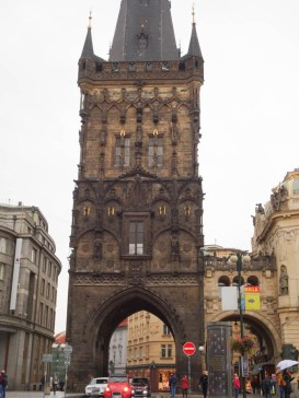 The Powder Tower in the Old Town