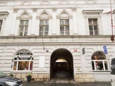 The Prager Tageblatt building - now rather derelict