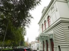The Art Deco concert hall in Smichov