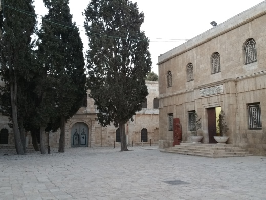 Courtyard in the Armenian Quarter