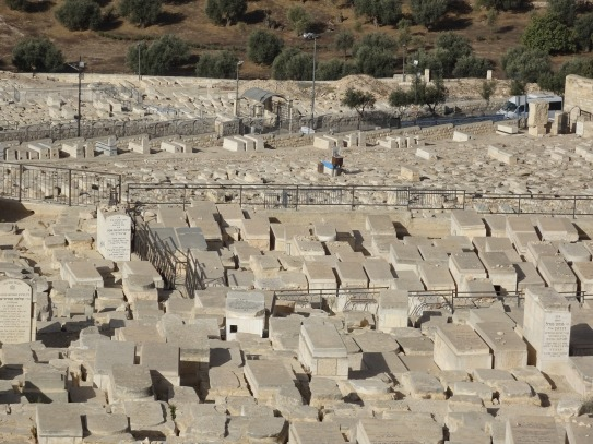 Jewish cemetery as close to Dome as you can get