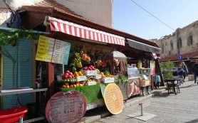 Ubiquitous juicing stall