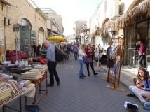 Jaffa market place