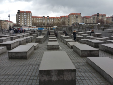 Holocaust memorial plaza