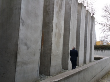 The memorial in the Jewish Museum