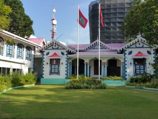 The President's Palace....