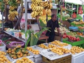 Locally grown fruit and veg