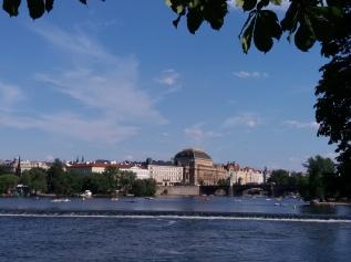 Views over the Vltava