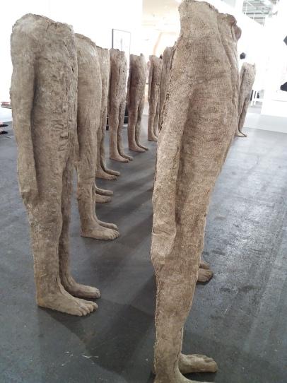 Magdalena Abakanowic's striking sculptures