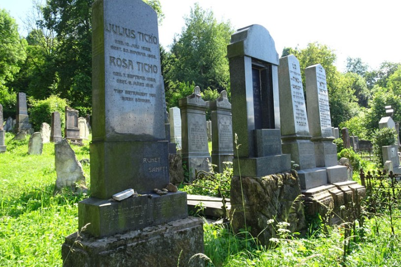 One of the Ticho graves