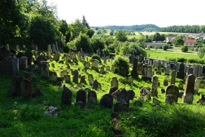 Fabulous views - a huge graveyard