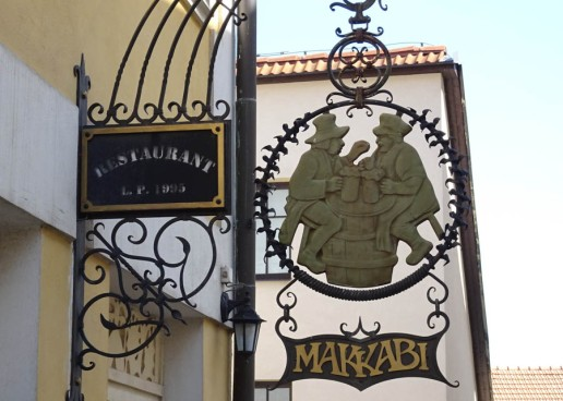 The Makabis were a Jewish sports club which my grandfather belonged to