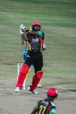 Chris Gayle in action!