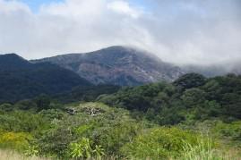 The volcano itself