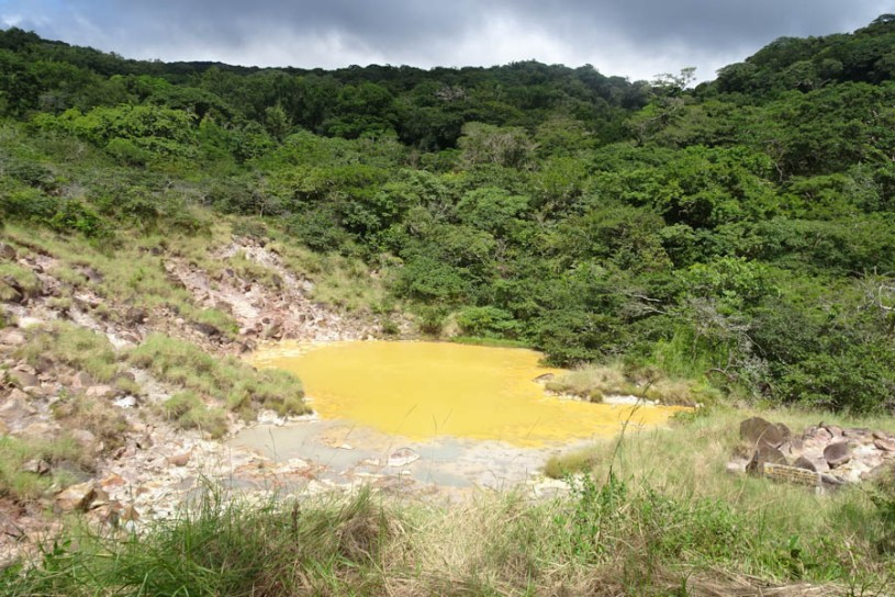 Another volcanic lake
