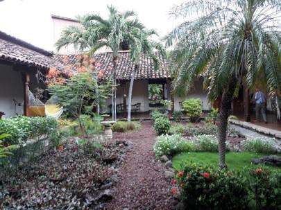 Ruben Dario's garden