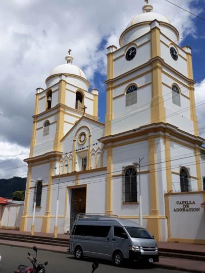 Church at Jinotega