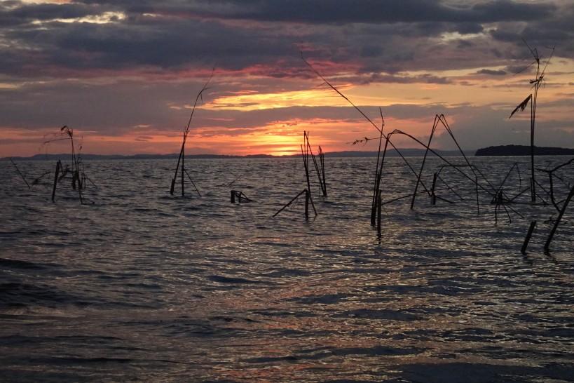 Sunset on Lake Nicaragua