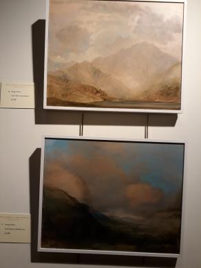 Fergus Hare's Turneresque landscapes