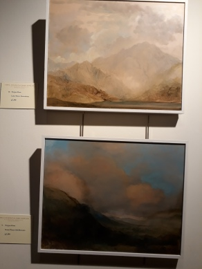 Fergus Hare's Turneresque landscapes