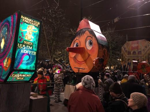 Pinocchio representing Fake News