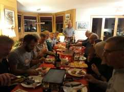 The traditional raclette evening...