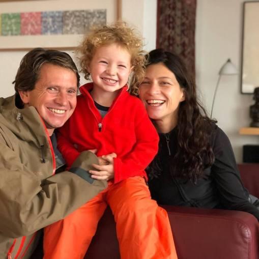 Sasha, Mel and Milo