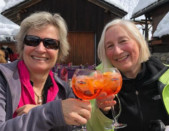 Ah, the aperol spritz..with Jane