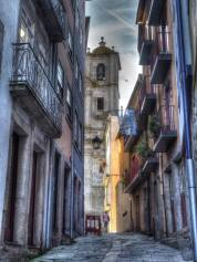 Ross's arty shot of Porto streets