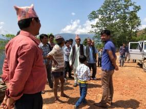 Surya doing his bit with teh community