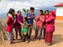 Surya charming the ladies