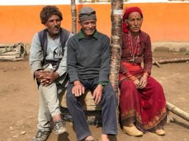 The elders look on bemused