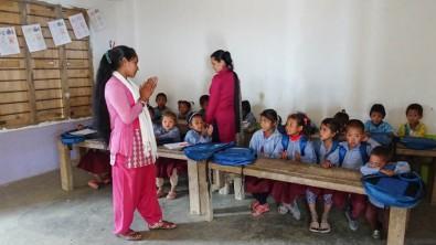 Teachers leading 'Brush your teeth', Nagi Dada