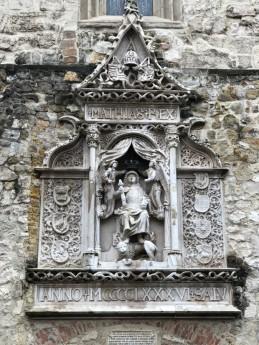 detail from St Matthias Church