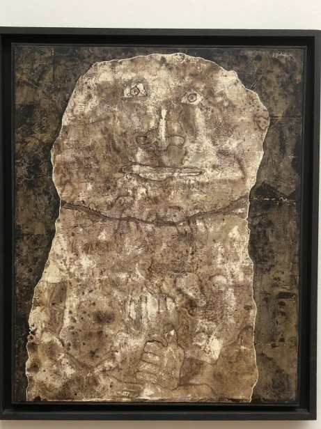 Jean Dubuffet Effigy of a fruit-bearing rock 1958
