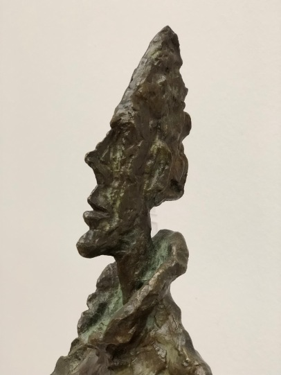 Stunning Giacometti bronze of his wife Annette in anititpcation of the Beyeler show
