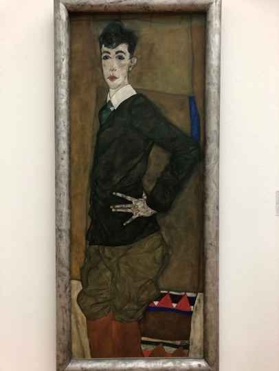 Egon Schiele - saw many more at the fAir
