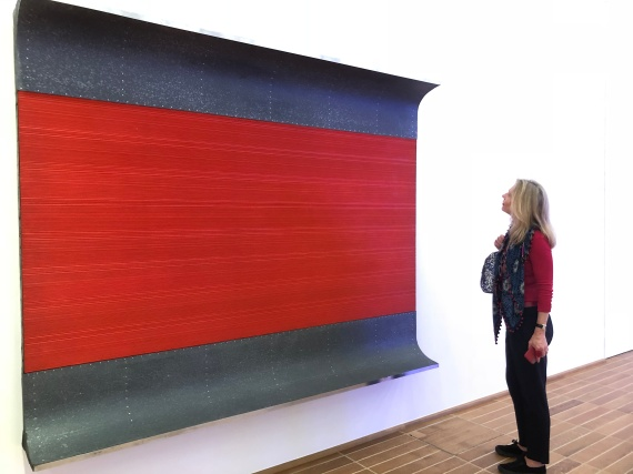 Admiring Donald Judd in the Kunstmuseum